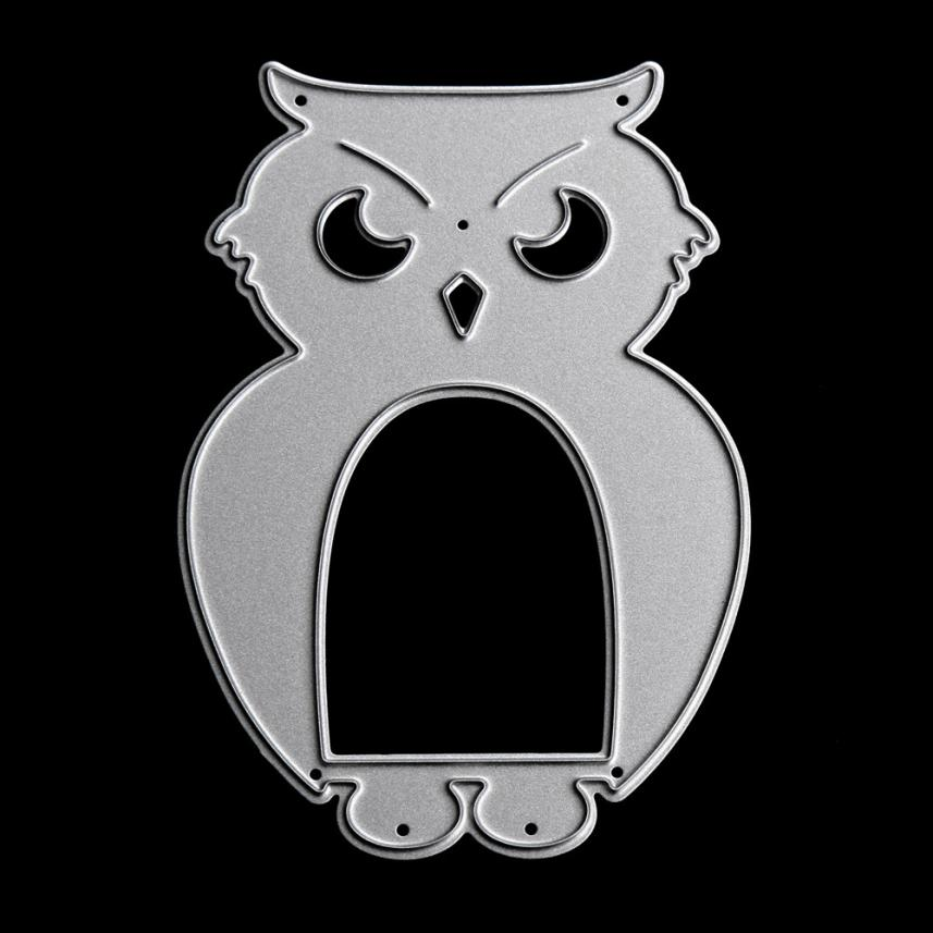 Metal Die Masonry Dinosaur Rabbit Owl Flower Girl Cutting Dies Stencil For DIY Scrapbooking Album Paper Card Decor Craft 2017