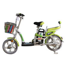 Spot sales of integrated front and rear wheel 250W energy-saving electric bicycle lithium battery electric bicycle safety