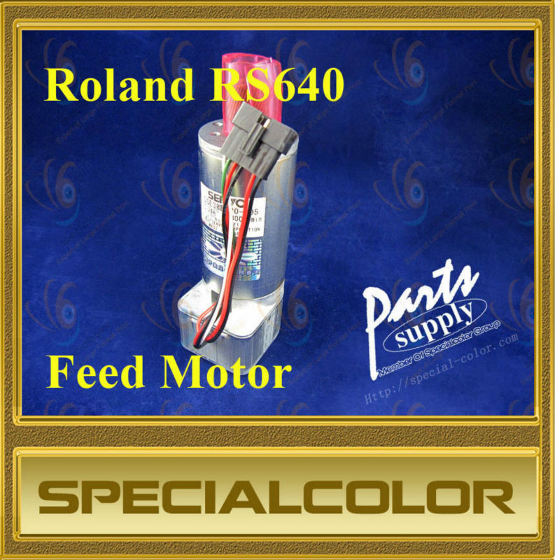 Feed motor used for Roland RS640 printer