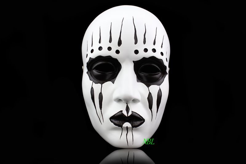 Slipknot Series Mask 3 Types High-grade Band Drummer Zipper Mouth Clown Joey Jordish Masks for Halloween Party Free Shipping(China (Mainland))