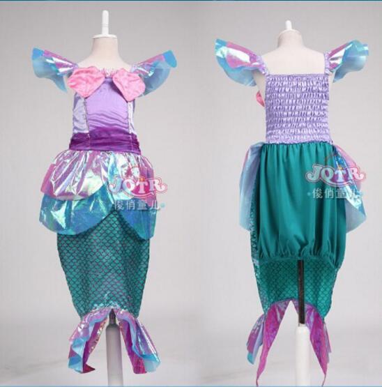 Free Shipping New Year Costumes For Kids Fantasy Child Fantasia Vestido De Festa Menina Mermaid Costumes KidsОдежда и ак�е��уары<br><br><br>Aliexpress