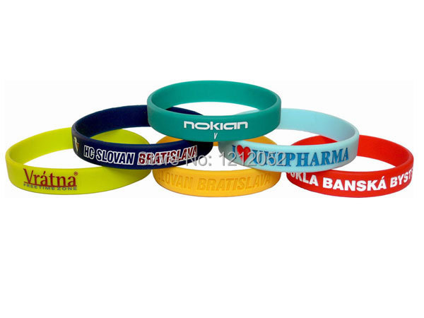 Custom silicone wristbands, color pattern OEM, printing, Sporting articles fashion bracelets wristbands(China (Mainland))