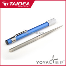 TAIDEA T0905D High-grade portable Multi-function outdoor knife coarse and fine grinding sharpener Knife Sharpener millstone(China (Mainland))