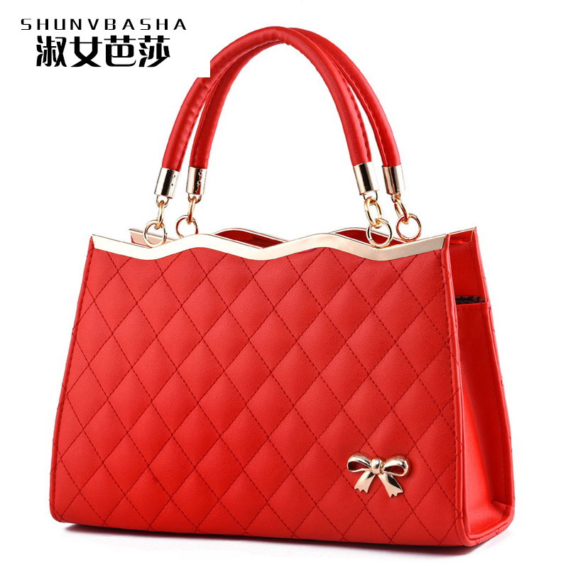 Luxury Color Shop Online Womens Designer Handbags With Logo Famous Brand High Quality Top-handle PU Wowen Messager Handbags(China (Mainland))