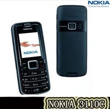 3110c Original Nokia 3110 classic Mobile Phone refurbished message memory card slots FM radio free shipping(China (Mainland))