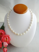 Sales Promotion !! 18'' HUGE AAA+ SOUTH SEA WHITE BAROQUE PEARL NECKLACE 14K W-1658(China (Mainland))