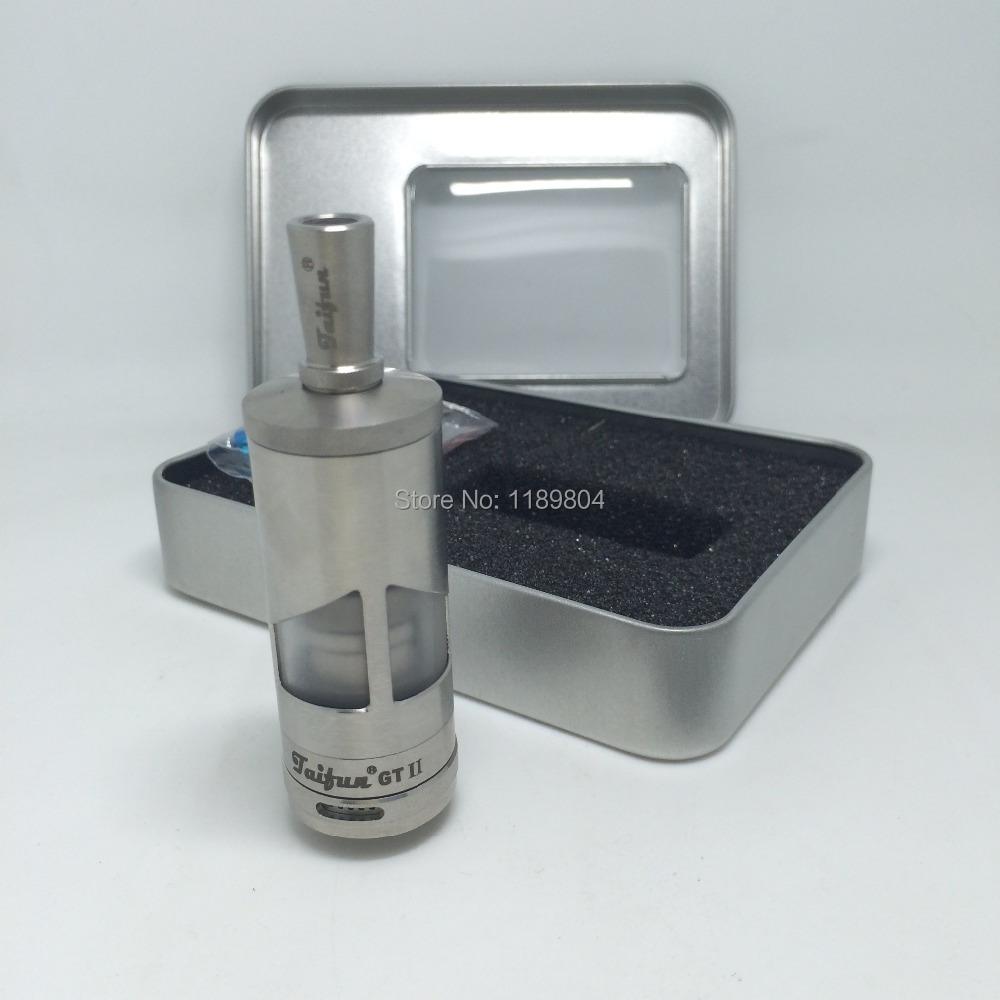 2pc Taifun gt 2 ii tank atomizer atomizers mechanical mod vaporizer clearomizer e cigarette Vs kayfun V4  Taifun<br><br>Aliexpress
