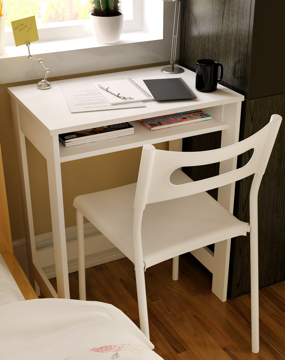 ikea children 39 s creative minimalist desk computer desk simple desk study table a small desk. Black Bedroom Furniture Sets. Home Design Ideas