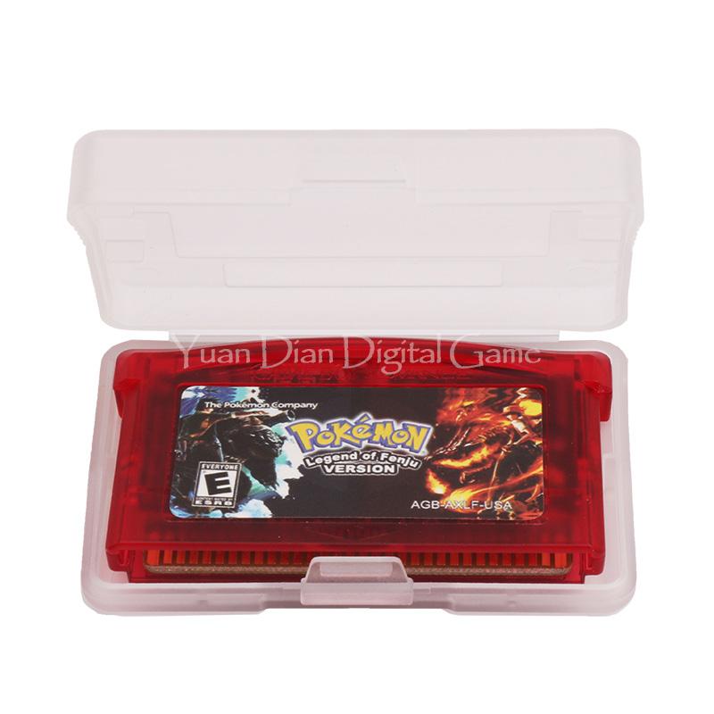 Nintendo GBA Video Game Cartridge Console Card Pokemon Series Legend Of Fenju English Language Version