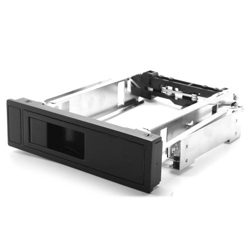 """3.5"""" HDD Enclosure internal SATA HDD mobile rack Aluminum Black CD-ROM space Hot-Swap 7+15pin free shipping(China (Mainland))"""