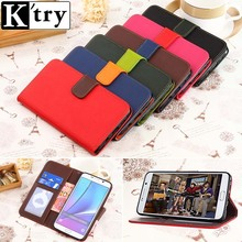 K'try Wallet Flip Case ASUS Zenfone 2 5.5 ZE551ML Genuine Leather Retro Stand Elegant Bags Pouch Phone Cover - Kuangkuang Store store