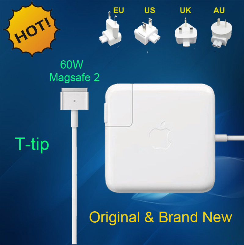 "New Genuine Oirginal magsafe 2 60W 16.5V 3.65A power adapter charger for apple Macbook pro Retina 13"" A1435 A1465 A1425 A1502(China (Mainland))"