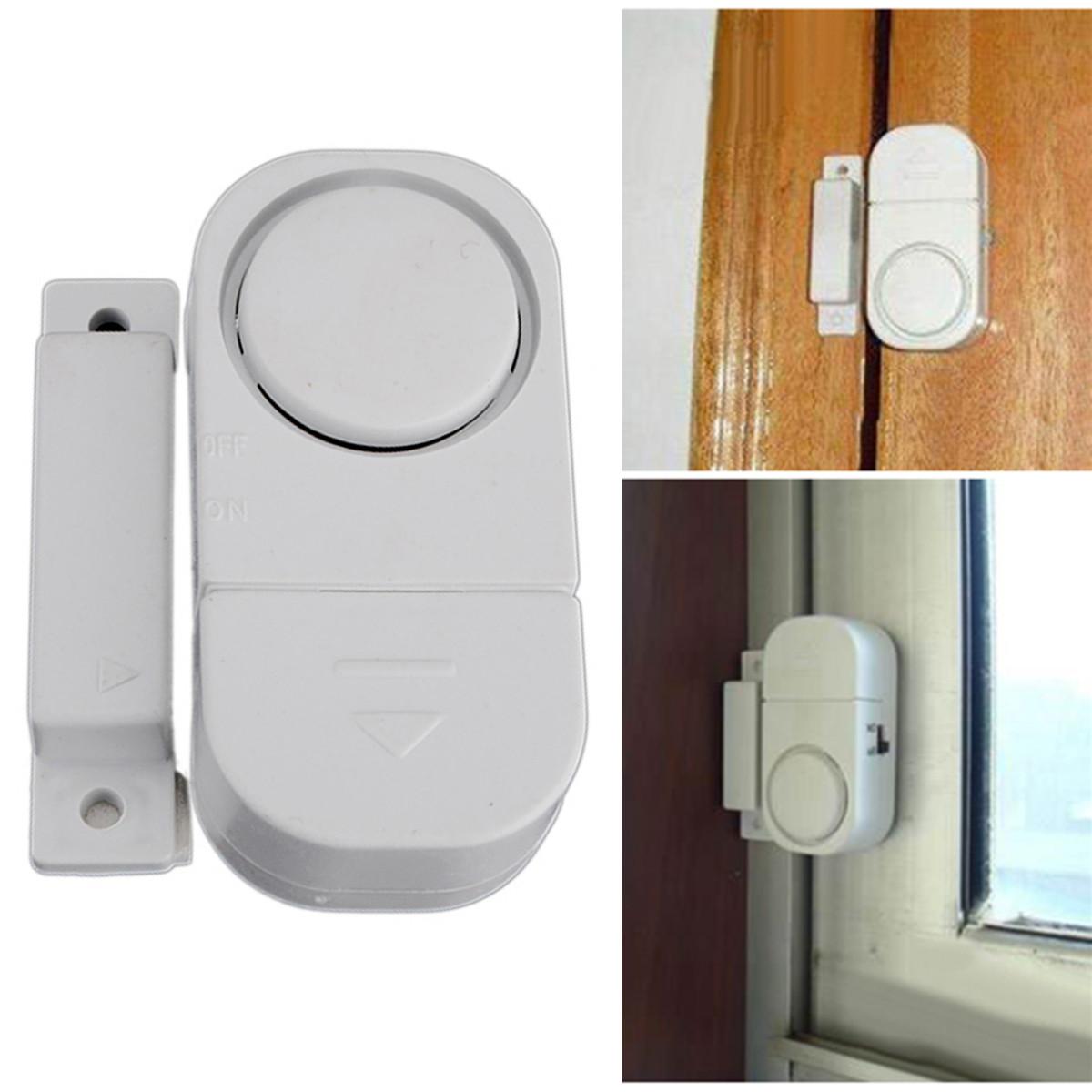 Wireless home window door entry burglar security alarm for Window alarms