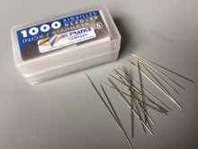 0.25mm 1000pcs/box  Loose Tattoo Needles in a Box - SHORT TAPER High Grade Professional Tattoo Loose Needles free shipping(China (Mainland))