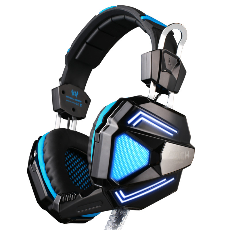 EACH G5200 7.1 Surround Sound Headphone Computer Gaming Casque audio Headset with Mic Vibration LED Light For PS3 PC Gamer(China (Mainland))