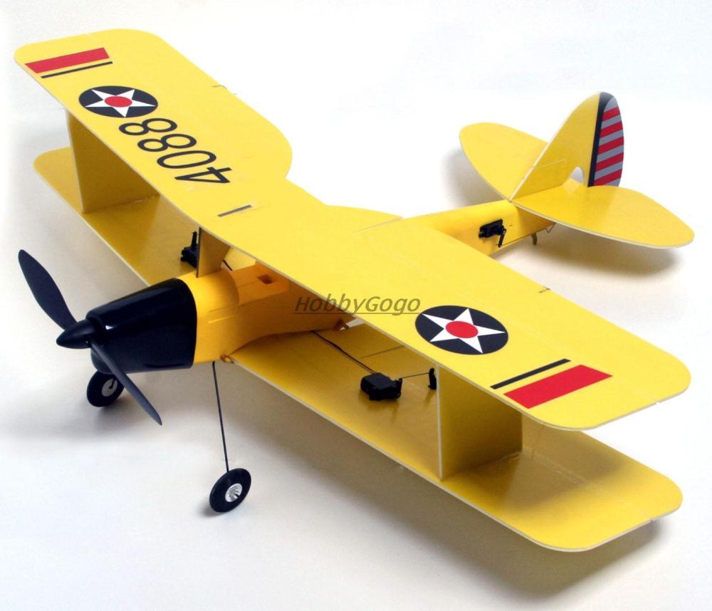 RC model airplane Tiger Moth EPS 800mm 4ch RTF Brush version 370 Motor RC airplane Warbird full set DropShip Toy plane(China (Mainland))
