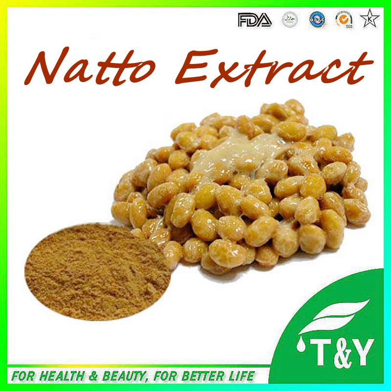 Hot Selling 100% Natural Natto Extract Powder Nattokinase For Capsule/Natto Seed Extract/Natto Extract 700G 10:1<br><br>Aliexpress