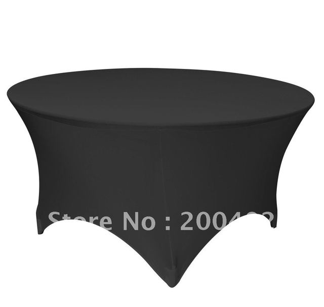 black lycra table cover /lycra chair cover/spandex chair cover