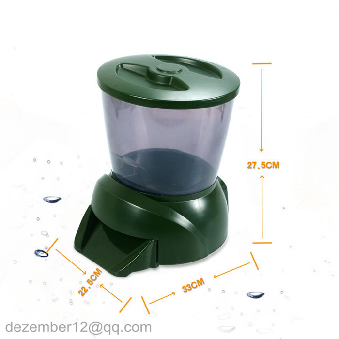 Buy large capacity automatic pond fish for Koi auto feeder