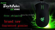 Original Razer Deathadder 2013+ 6400DPI,4G,game mouse Brand New,Without Original  Box ,Suppot Razer Synapse 2.0+Gift mouse bag(China (Mainland))