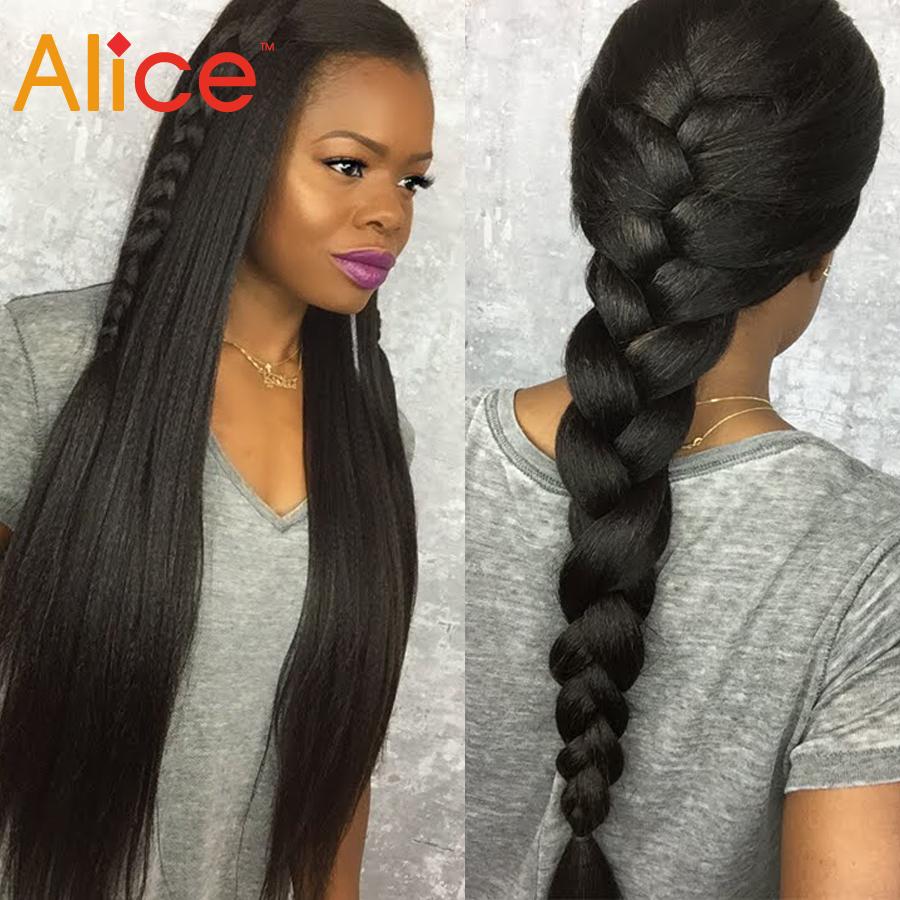 Фотография Cheap Brazilian U Part Wig,Middle Part U Part Wig100%Virgin Human Hair ,Long Brazilian Silky Straight Wigs For Black Women