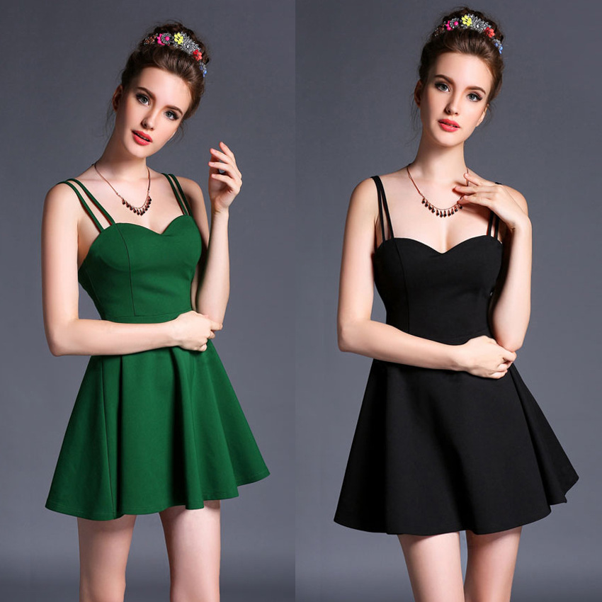 In the summer of 2015, sexy unbacked chest wear strapless dress skirt with shoulder-strapsОдежда и ак�е��уары<br><br><br>Aliexpress