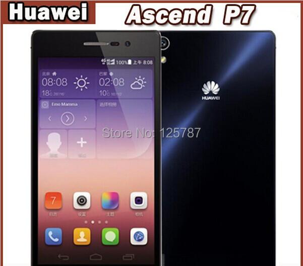 "Oriignal HUAWEI ASCEND P7 4G LTE Сотового Телефона Кирин 910 Т Quad Core Android 4.4 5.0 ""FHD 1920x1080 2 ГБ RAM 16 ГБ ROM 13.0MP"