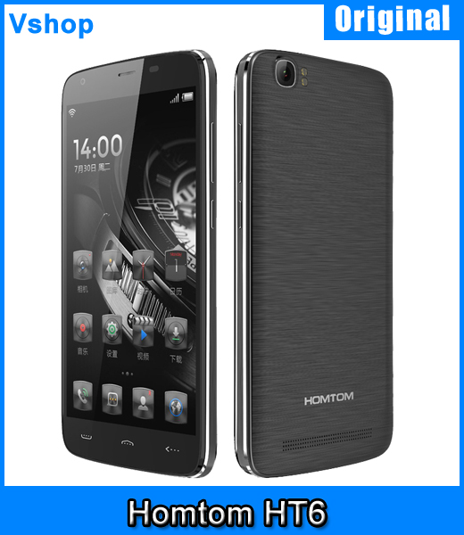 4G HOMTOM HT6 5 5 inch 6250mAh Battery Android 5 1 MT6735 Quad Core 2GB 16GB