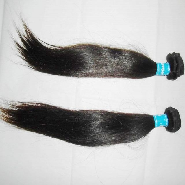 "KissLocks 8A Straight Peruvian virgin remy hair wefts,12""-30""inches 3pcs/lot ,shiny&no tangle, Ship by DHL free"