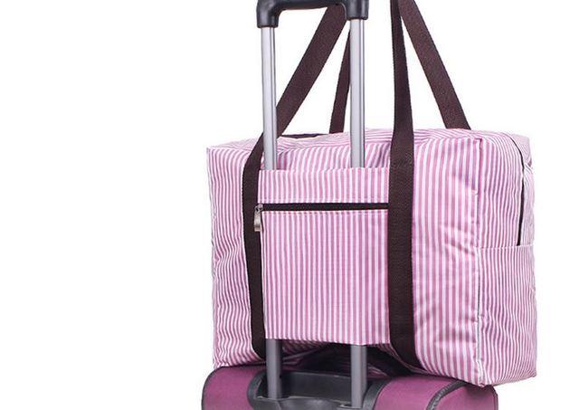 Новый Большой водонепроницаемый дорожная сумка упаковка кубики висит багажа прокатки ...