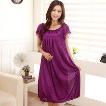 2016 new summer women's sleepwear maternity pajamas pregnancy sleepwear maternity night wear homewear maternity dresses 16753