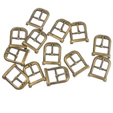 Hoomall 30PCs Metal Shoes Buckles Clips DIY Shoes Bag Belt Buckles Sewing Accessories Bronze Tone 22mmx18mm(China (Mainland))