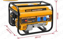 d006/INGCO/2800w/ can easily / gasoline generator / household single phase 220V / mini 12V / recoil starter /2.8KW(China (Mainland))
