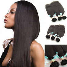 3pc/lot Light yaki hair extensions grade 6A Chinese hair weave 8-30'' for your nice hair DHL free shipping(China (Mainland))