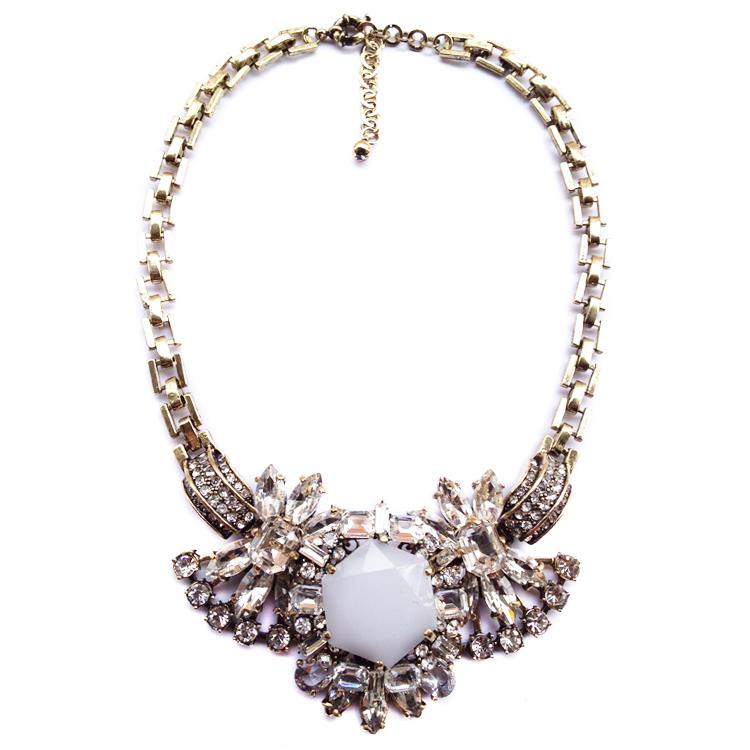 New Arrival 2015 fashion JC necklace & pendant vintage costume choker chunky bib collar Necklace statement jewelry supplies(China (Mainland))