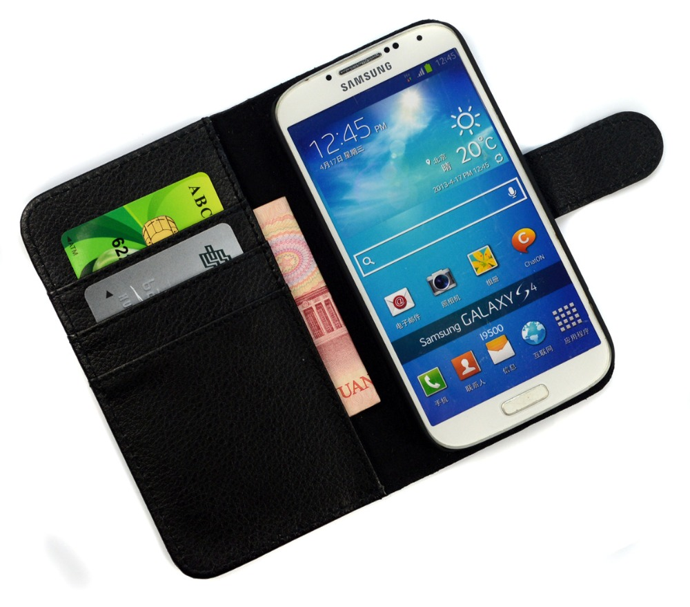 Stock Clearance For Samsung S4 Cases Wallet Flip Leather Case Cover For Samsung Galaxy S4 i9500 SIV Phone Bag Cover Coque Fundas(China (Mainland))