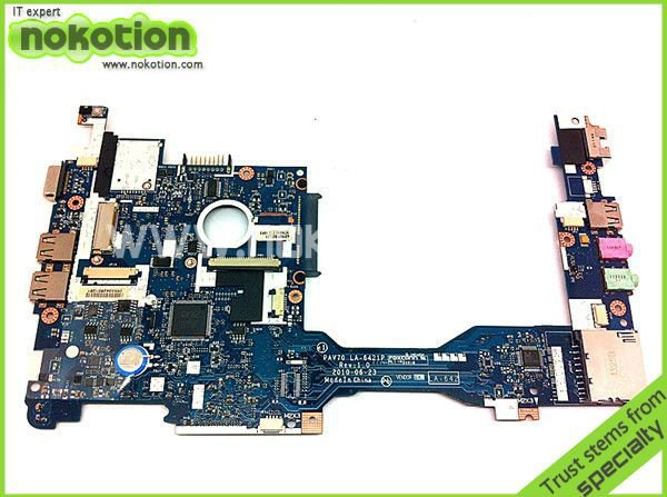 PAV70 LA-6221P MBSDF02001 MB.SDF02.001 laptop motherboard For acer aspire one D255 D255E Atom N450 1.6GHz mainboard(China (Mainland))