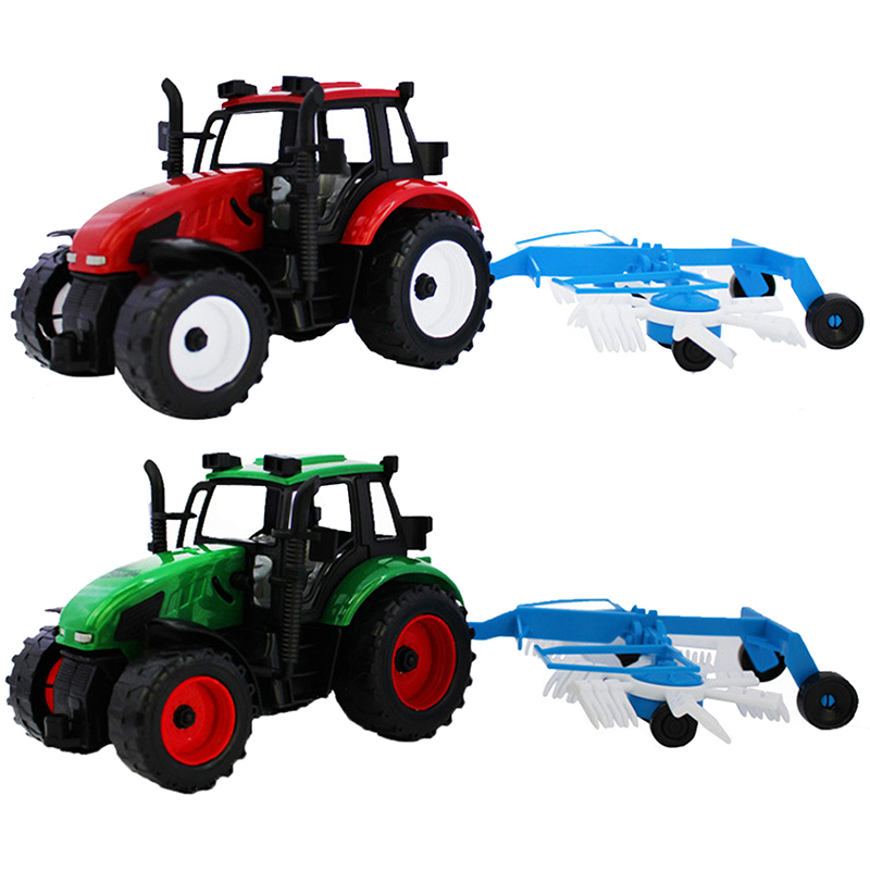 Happy Cherry Kids Children Farmer Using Tractor Set Truck Toys for Baby Boys Girls Model Cars Toy Best Gifts(China (Mainland))