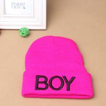 New Fashion Toddler Baby Girl Boy Winter Warm Woolen Skull Hats BOY Beanie Caps Ski Hats(China (Mainland))