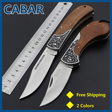 CABAR 2015 New Arrival 95&75 mm Single Blade Hunting Camping Diving Outdoor Knife Top Quality Fold Knife Free Shipping