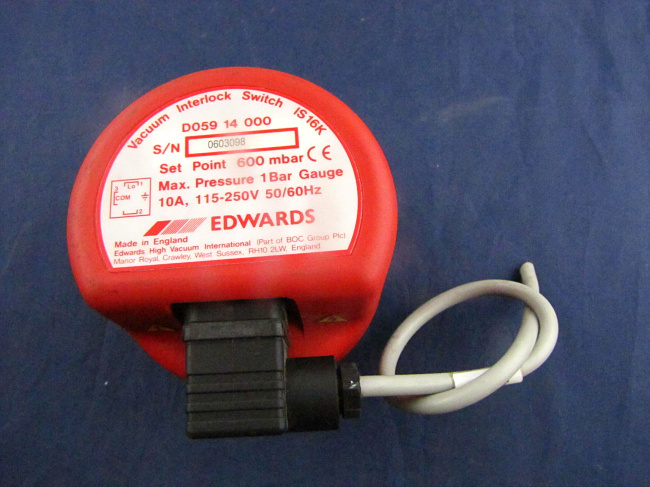 EDWARDS Vacuum Interlock Switch IS 16K D059 14 000(China (Mainland))