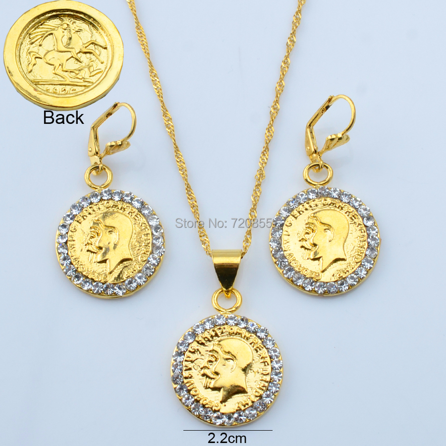 julie vos coin by necklace gold pendant products