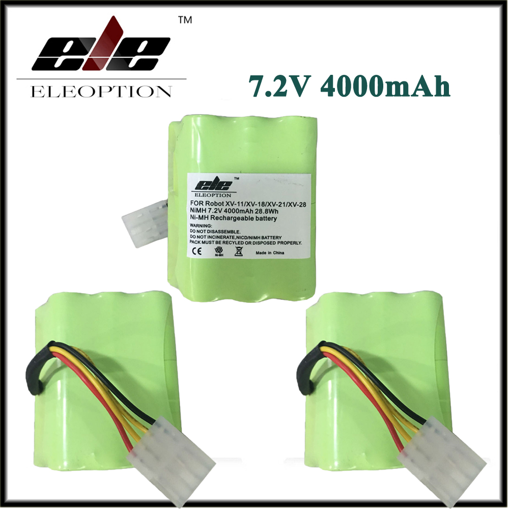 3 pcs High quality For Neato XV-11 Vacuum Cleaner Battery 7.2v 4500 mAh Battery Replacement For Neato 945-0005 Set(China (Mainland))