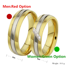 1pcs New Fashion Stainless Steel Cute High Quality Couple Rings For Men Women Lovers Wedding Engagement