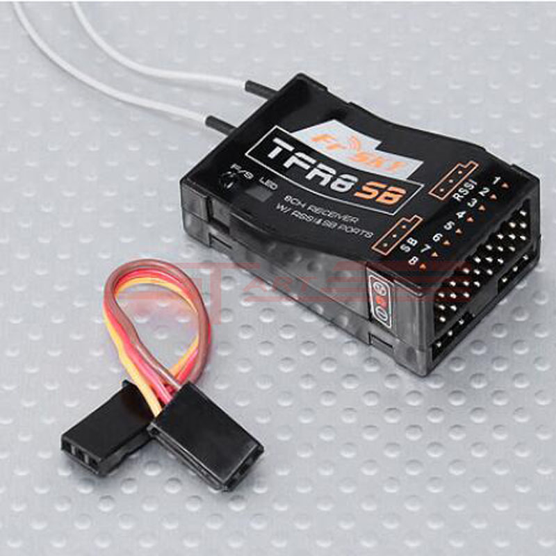 Hottest FrSky RC 8CH TFR8SB Receiver Compatible with 2.4G Futaba FASST Low Shipping Fee<br><br>Aliexpress