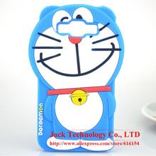 For Samsung Galaxy A5/E5/J5 Case Cute Japan 3D Cartoon Doraemon Phone Case Soft Silicone Rubber Cover Case