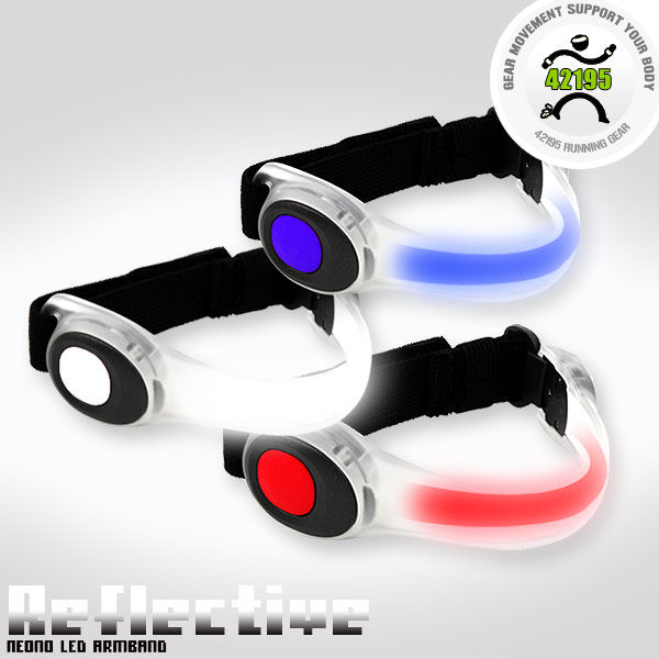 Neon-Led Armband light reflective arm with leggings wristbands(China (Mainland))
