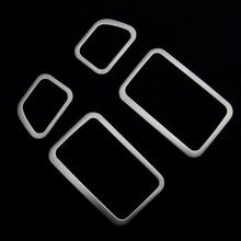4pcs kit decorative outlet box air conditioning vent decorative stainless steel frame for Mitsubishi Pajero Sport
