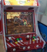 "19 "" 4:3 LCD monitor table top arcade machine 2 player Desk Arcade Horizontal Games Machine with 645 in 1 jamma Pandora's Box 4(China (Mainland))"