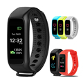 New L30t Bluetooth Smart Band Dynamic Heart Rate Monitor Full color TFT LCD Screen Smartband for